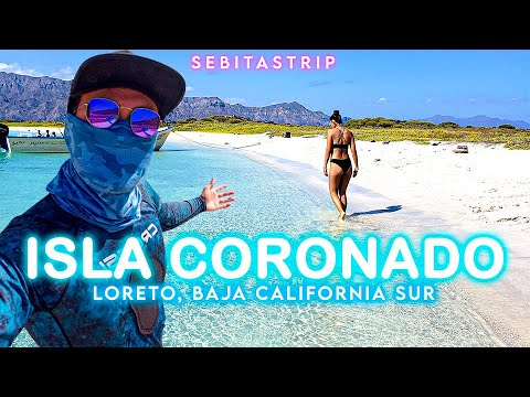🌎🧜♂️ BAJA CALIFORNIA SUR: ISLA CORONADO | LOBOS MARINOS | ¿QUÉ HACER EN LORETO? | @sebitastrip