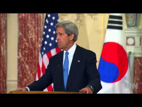 Breaking News Kerry- U.S. won't accept a nuclear state