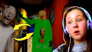 Baldi's Basics Switch Up in Granny's House!! Granny Extreme (Horror Game)
