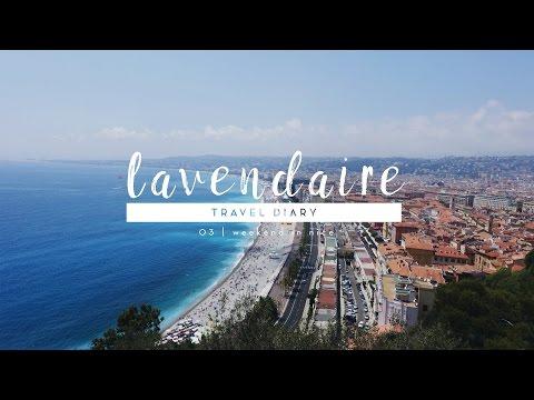 Europe Travel Diary 03 | Beautiful Nice, France