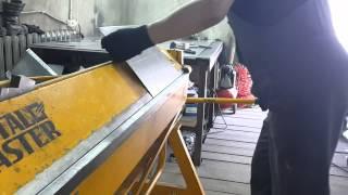 Сибгиб. Видео отзыв листогиб Metal Master LBM (работа с металлом - 1мм.)(Компания ООО