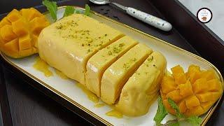 হুইপক্রিম ছাড়াই ম্যাংগো আইসক্রিম (মাত্র তিনটি উপকরণে)    Mango Ice Cream - No Whipped Cream