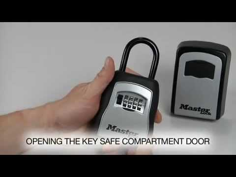 Operating The Master Lock 5400d Amp 5401d Safespace 174 Lock