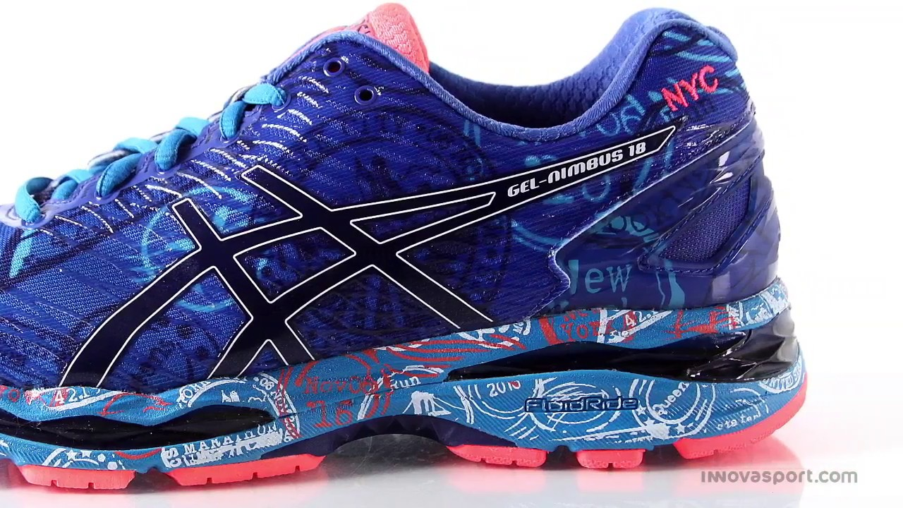 asics gel nimbus 18 nyc gran rebote innovasport youtube. Black Bedroom Furniture Sets. Home Design Ideas