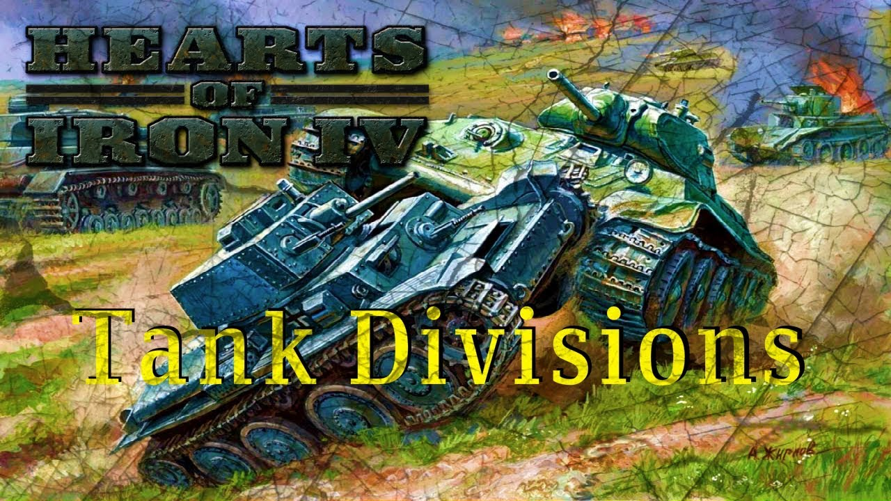 HOI4 Tutorial: Great Tank Division Templates!