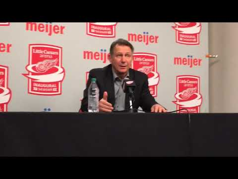 Red Wings' Ken Holland discusses Petr Mrazek trade