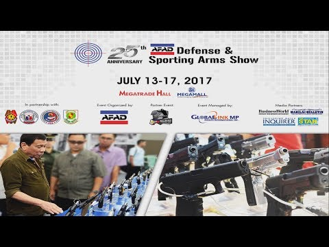 AFAD 25TH Defense and Sporting Arms Show Part 1 2017