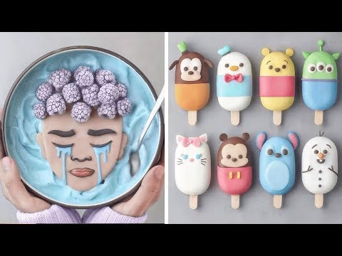 How To Make Cake With Milk Cream   Simple Cake Decorating Tricks You Need To Try   Sweet Cake