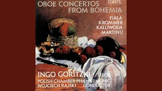Concerto for Oboe & Small Orchestra: I. Moderato
