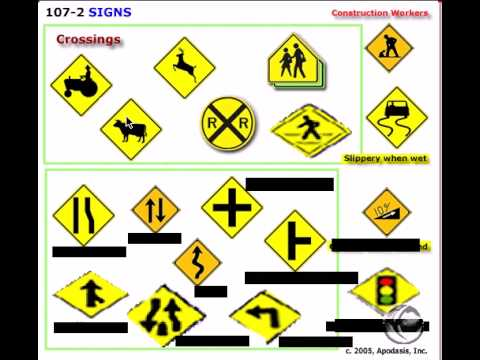 also learn traffic signs rules of the road  youtube rh
