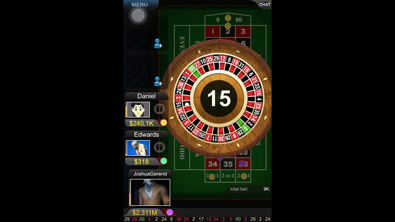 Big fish casino ep 2 loss at the roulette table youtube for Fish table gambling