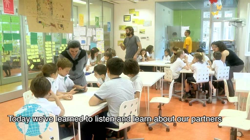 Dfc espa a 2013 mejoramos el patio colegio nazaret - Colegio notarios de barcelona ...