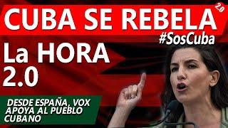 #SosCuba CUBA se REBELA - Apoyo desde España