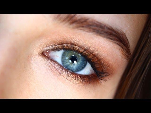Eye Makeup Tutorials For Blue Eyes Popsugar Beauty