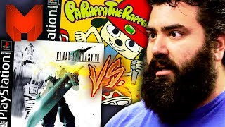 The BEST PS1 Games? Final Fantasy VII vs Parappa the Rapper - Madness