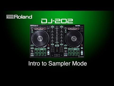 Roland DJ-202 - Intro to Sampler Mode