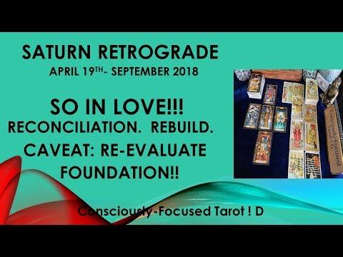 SATURN RETRO'GRADE. RECONCILIATIONS, BUT.. ?!? Energy Tarot Reaing