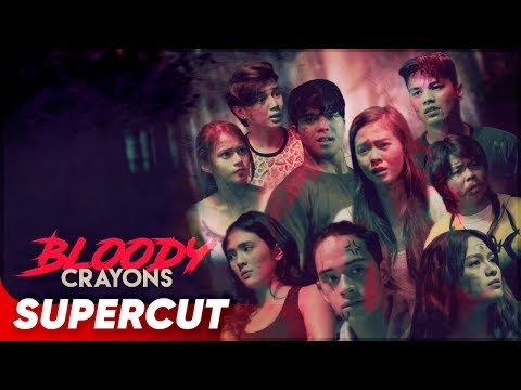 Bloody Crayons | Janella, Elmo, Jane, Ronnie | Supercut