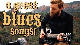 3 GREAT fingerstyle BLUES songs (pt. 3)