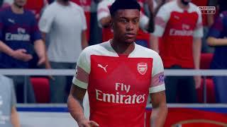 FIFA 19 - Arsenal vs Barcelona PS4 PRO HD 4K