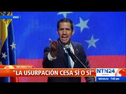 """Guaidó: """"El juego cambió y la ayuda humanitaria entra sí o sí"""""""