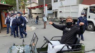 【大人の贅沢おもちゃ】西成で朝ごはん!西成ミニジープ軍団結成!?