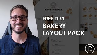 Get a FREE Bakery Layout Pack for Divi