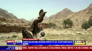 Wisata Napak Tilas Jejak Nabi Musa di Gunung Sinai Mesir