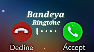 Chal Chal Ve Tu Bandeya New Ringtone Status Video || Bandeya New Instrument Ringtone Status ||
