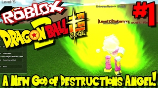 Ein NEUER GOTT VON DESTRUCTION'S ANGEL! | Roblox: Dragon Ball Super 2 - Episode 1