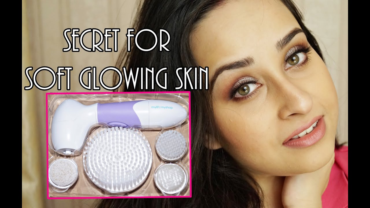 Spin For Perfect Skin Review Cleansing And Exfoliating Brush Youtube