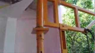 homemade cable hoist kuliyapitiya
