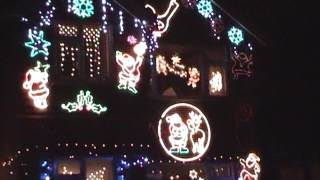Boxall Christmas Light Switch On 2009 - UNSEEN CLIP