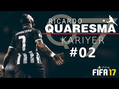 QUARESMA Kariyer #02 ★ Hastasıyız be Abi !!! | FIFA 17 | PS4 #RabonaPrince