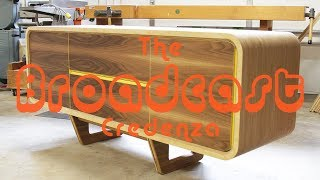 Building a MODERN Credenza -- Shaun Boyd Made This