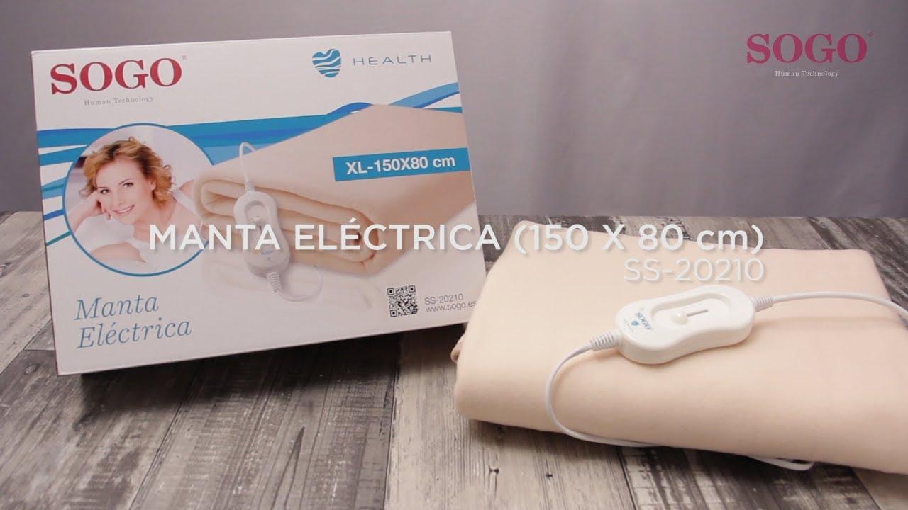 Manta Electrica 150 X 80.Sogo Ss 20210 Manta Electrica 150 X 80 Cm 60w