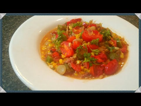 Southern Succotash Recipe/ How To Cook Summer Succotash