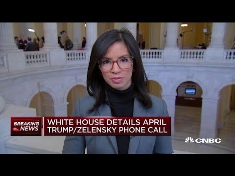 White House details April 21st phone call between Presidents Trump and Zelensky