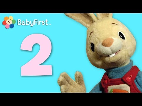 Two | Learning Numbers | Harry the Bunny | BabyFirstTV