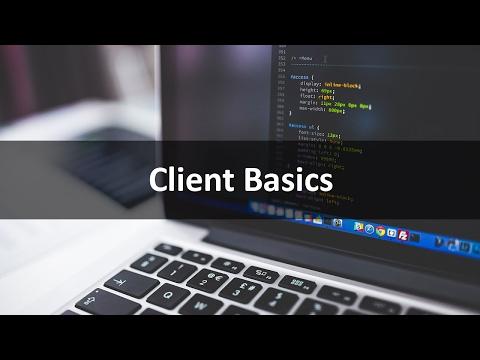 Web Document Basics