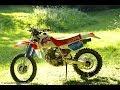 1993 HONDA XR250R rebuild