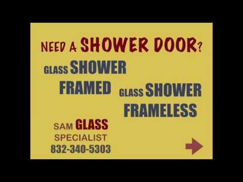 GLASS SHOWER DOOR HOUSTON TEXAS