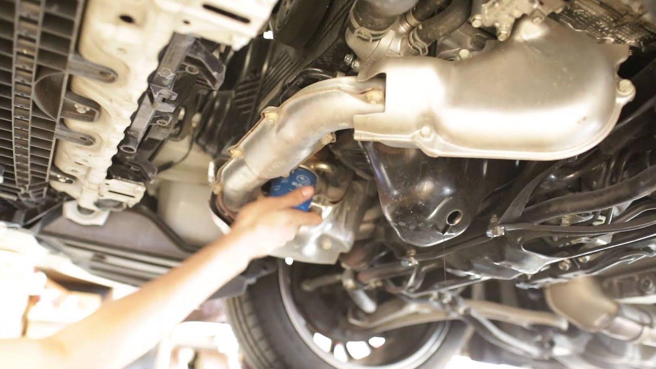 2015 Subaru WRX STI Oil Change DIY - YouTube