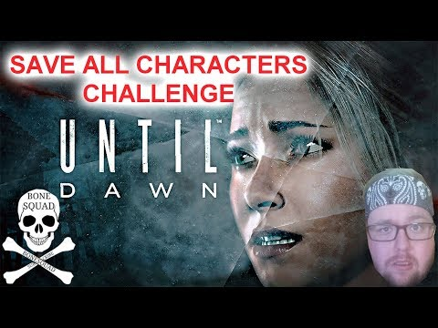 UNTIL DAWN SAVE ALL CHARACTERS ALL IN 1 STREAM CHALLENGE EXCEPT ONE ROAD TO 250 SUBS