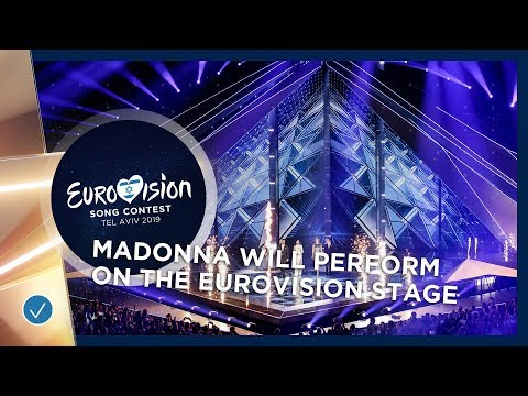 CONFIRMATION: Madonna will perform at the Eurovision Song Contest Mp3