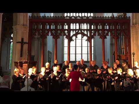 Thula Baba - Traditional Zulu Lullaby (Suffolk Singers)