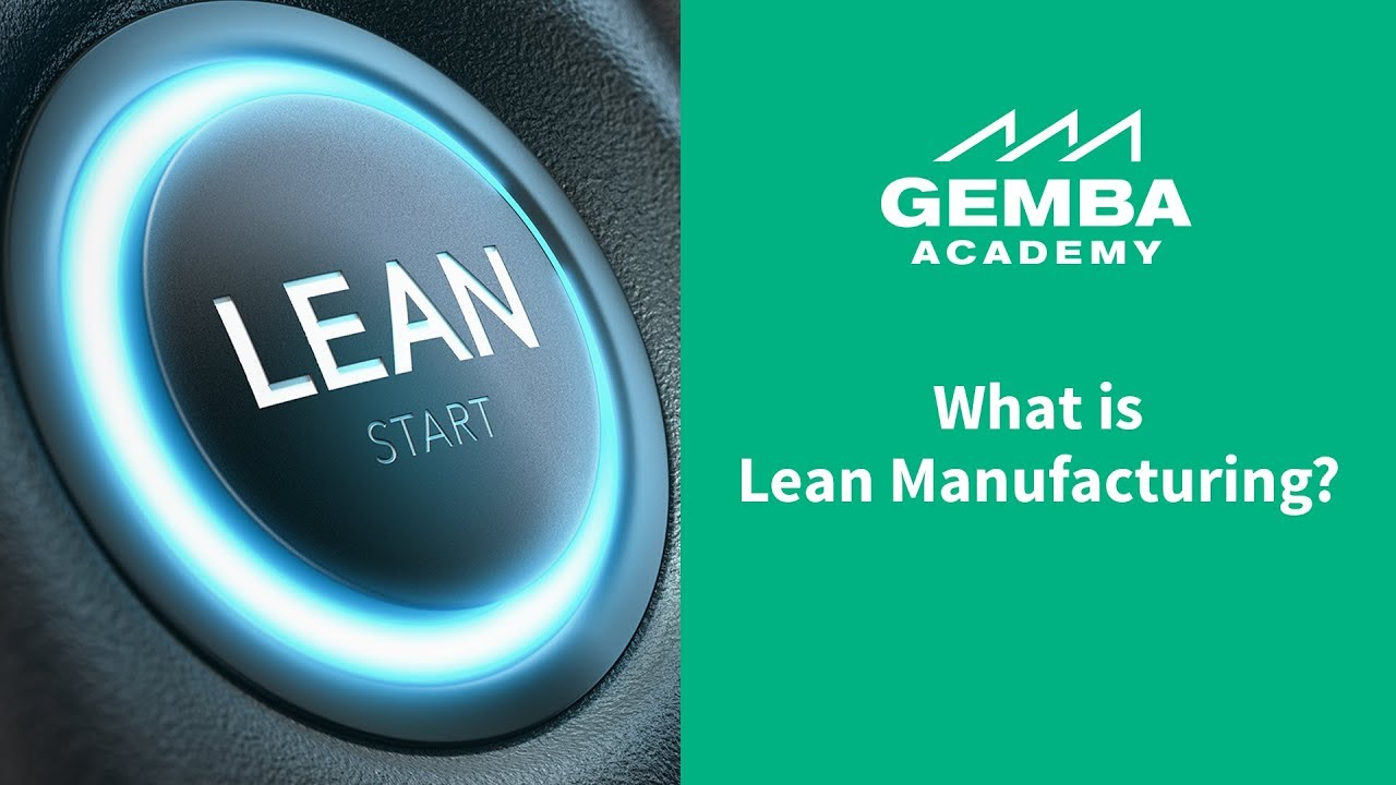 introduction to lean manufacturing youtube