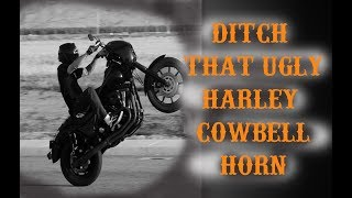Ditch that UGLY Horn and Relocate the Coil on your Dyna!!!