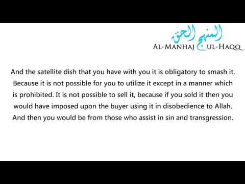 A Warning Against Having Satellite Dishes in the Homes - By Shaykh Ibn Uthaymeen