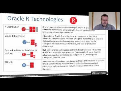 Running R in the Oracle Database